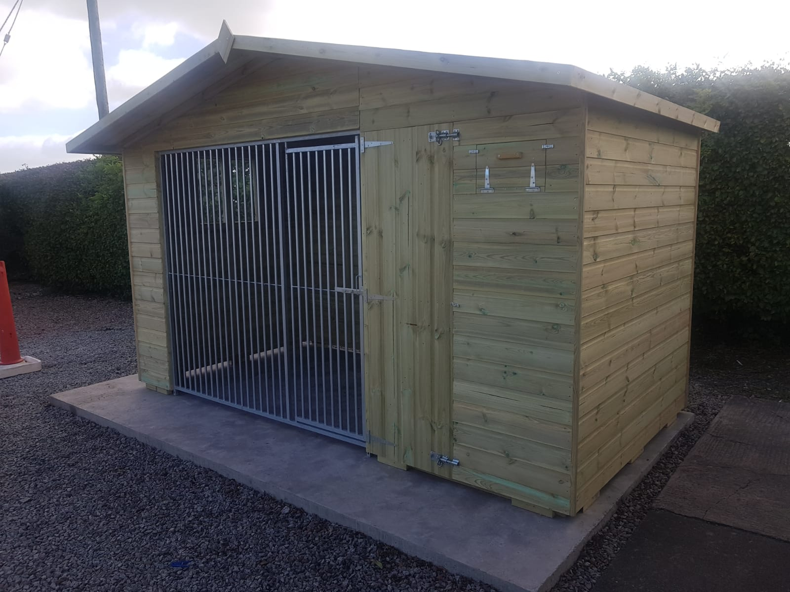 The Bramhall 12ft Wide x 6ft Deep Dog Kennel