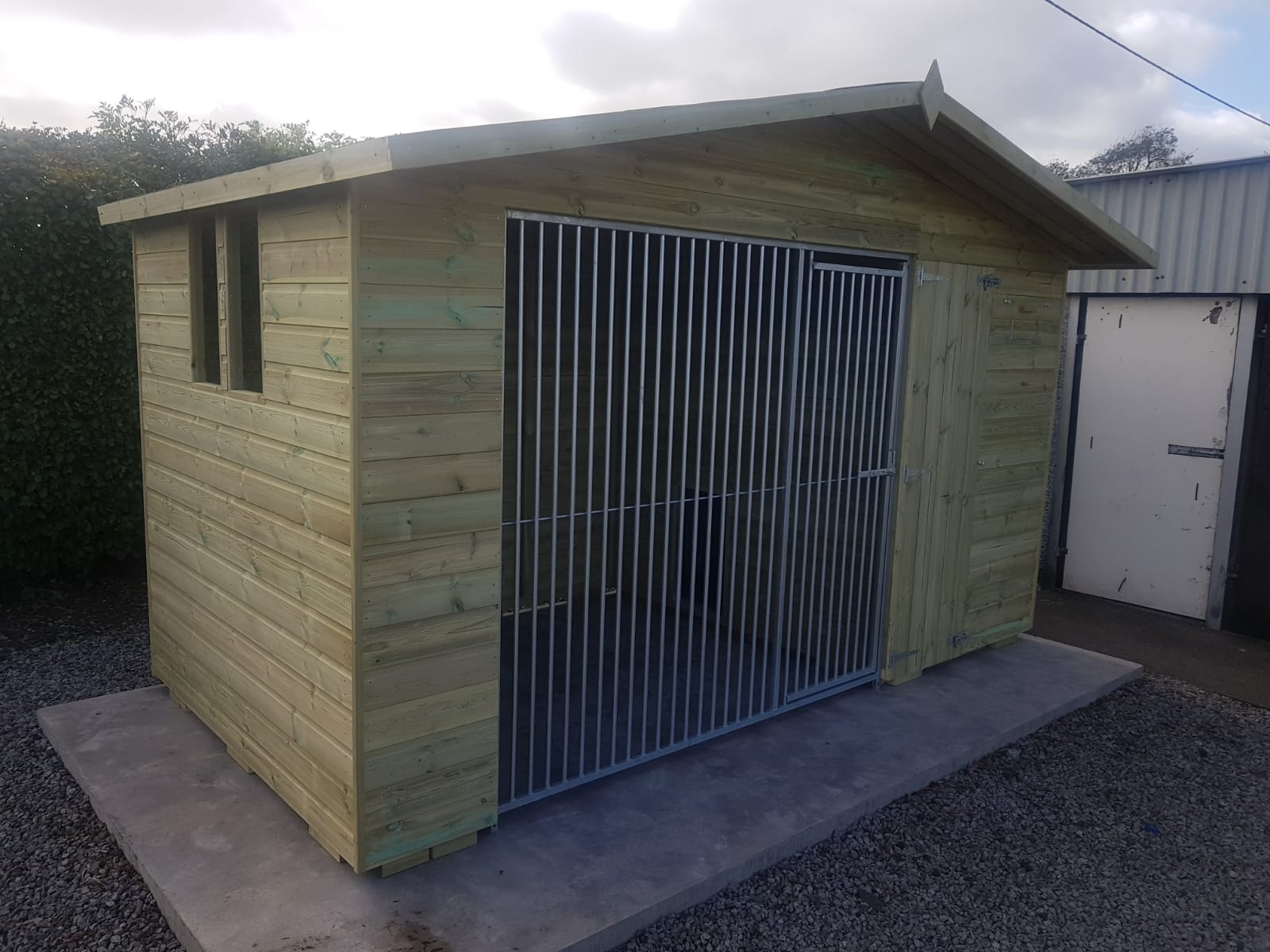 The Bramhall 10.6ft Wide x 6ft Deep Dog Kennel