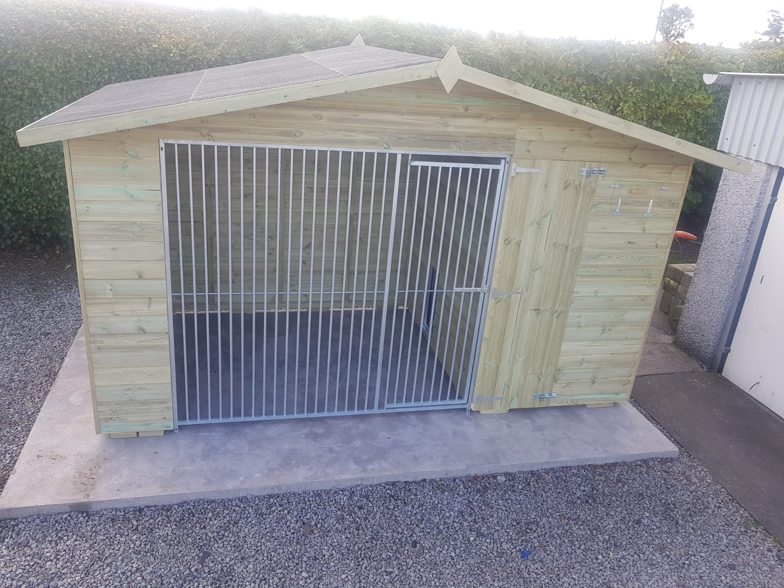 The Bramhall 8ft Wide x 6ft Deep Dog Kennel