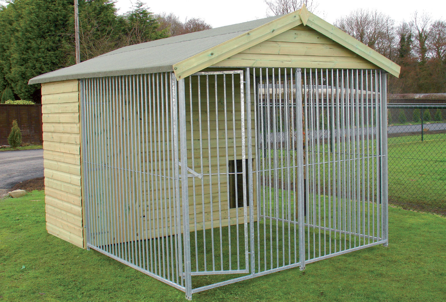 The Warmingham 10ft Wide x 10.6ft Deep Dog Kennel