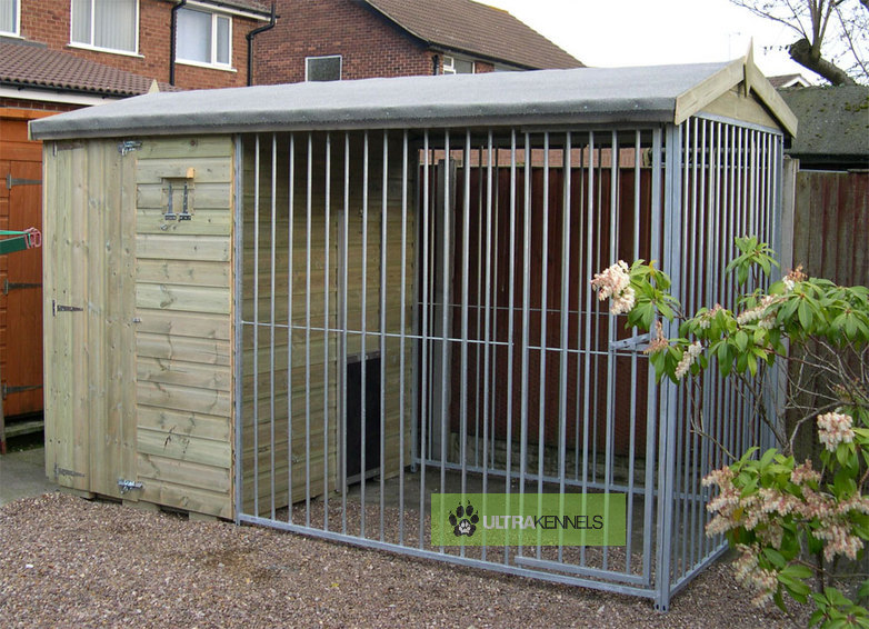 The Wrenbury 10.6ft Wide x 5ft Deep Dog Kennel